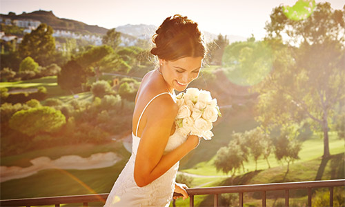Wedding Bride at La Cala Resort