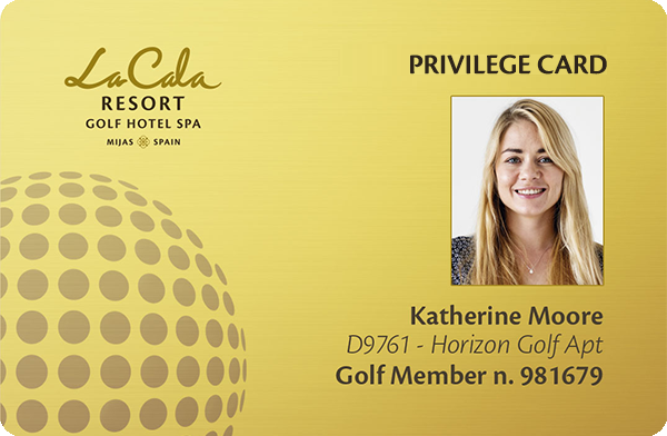 Privilege Card - Benefits at La Cala Resort