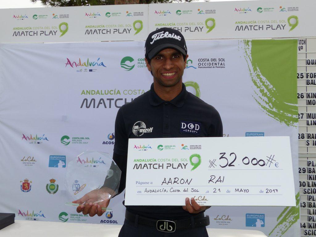 Aaron Rai Match Play 9 champion in La Cala Resort