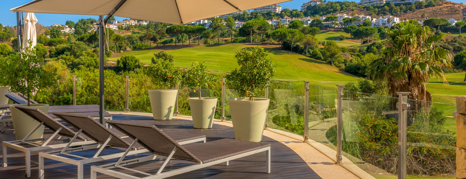 Terrace - La Cala Spa