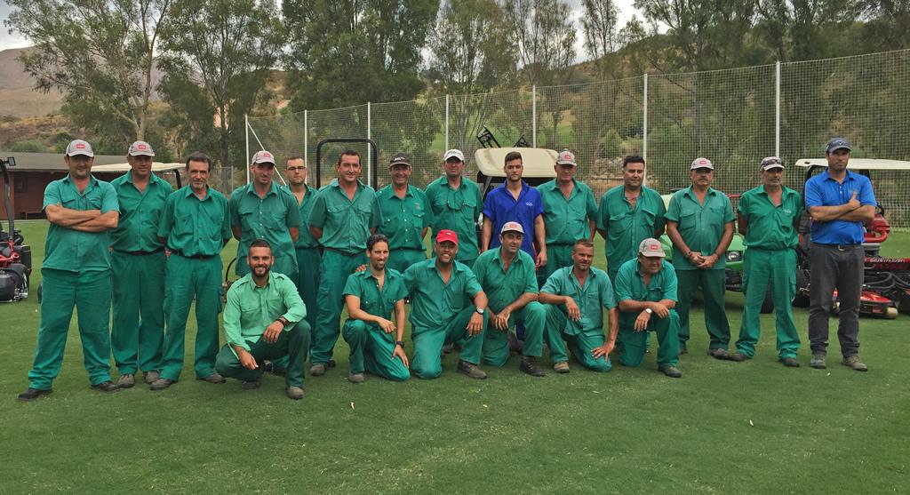 Equipo de Golf - Green Keepers