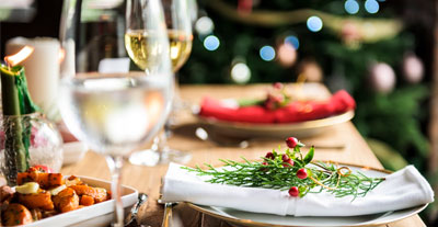 Christmas Lunch Offer in Costa del Sol, Malaga, Spain. 25th December