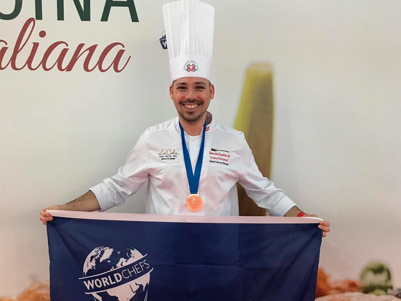 Chef Daniel garcía Peinado - La Cala Resort