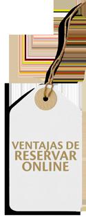 Ventajas de Reservar Online