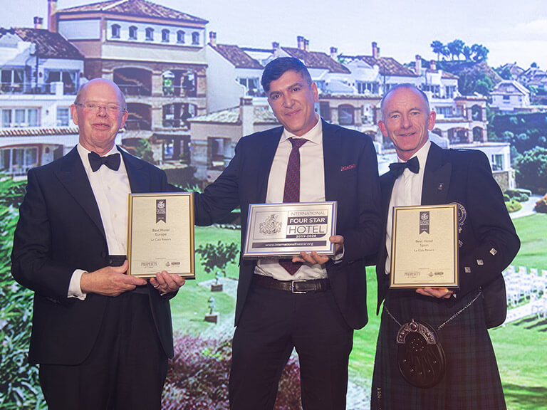 2019 Awards - La Cala Resort - Best Hotel in Spain & Europe